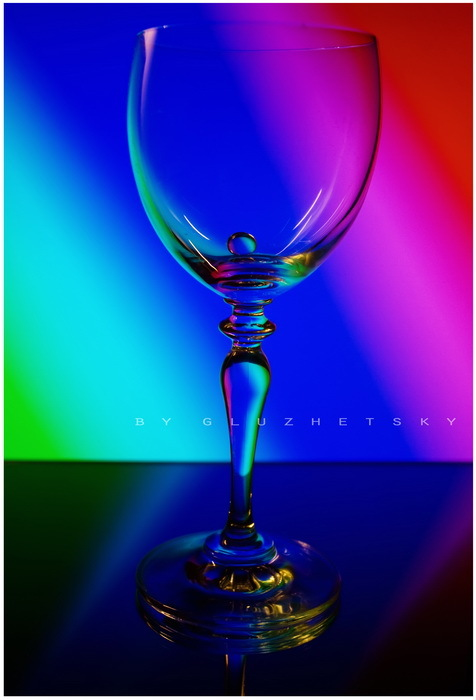+Rainbow glass+
